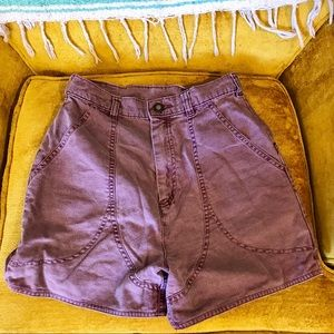 Vintage Patagonia high waisted shorts size 6